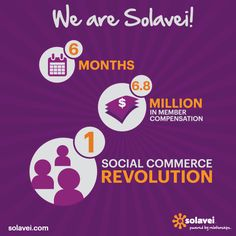 Awesome Company Stats So Far! SolaVei is here to Stay! Time for you to join the Revolutions and find out more on how to never pay a cell phone bill again! Check out my site. http://www.4GFreedomPlan.com/