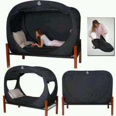 privacy bed tent! yes yes yes!!!