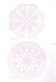 Made the pattern on top in shaded pink thread.easy to complete photo on my crochet board Crochet Circles, Crochet Mandala, Crochet Motif, Crochet Doilies, Crochet Flowers, Crochet Lace, Crochet Hooks, Crochet Diagram, Crochet Chart
