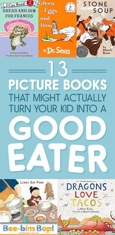 Do you have a picky eater at home? These fun picture books may help your little one become more curious to try new foods!