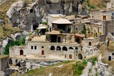 Moon to Moon: A house built in Turkish Caves...