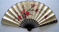 "The term ""Chinoiserie"" is french for ""chinese-like"". This type of asian/chinese design style entered Europe in the mid-to-la. Fan Tattoo, Chinese Fans, Chinese Paper, To Go, Paper Fans, Ancient China, Chinoiserie, China Porcelain, Porcelain Ceramics"