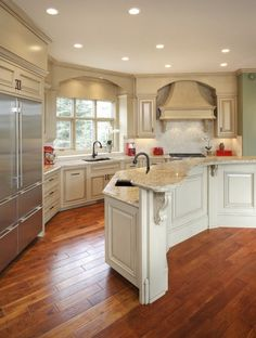 Kitchen- I love how open it is: