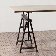 Набор из 2-х оснований для стола Set Of 2 Trestles In Metal - Home Concept интерьерные магазины