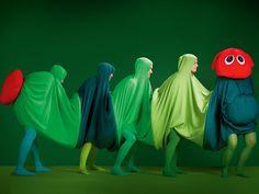 Die kleine Raupe Nimmersatt | Kostüm-Idee für Gruppen zu Karneval, Halloween & Fasching