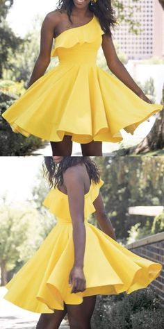 Yellow Homecoming Dresses,Cute Homecoming | MeetBeauty