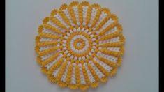 Mahi Karpinar shared a video Crochet Mandala, Crochet Doilies, Granny Videos, Woolen Craft, Woolen Dresses, Crochet Kitchen, Crochet Videos, Crochet Projects, Crochet Earrings