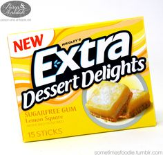 Sometimes Foodie, Extra Dessert Delights (Lemon Square) - Review