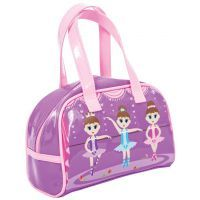 Bobble Art Ballerina Small Gloss Bowling Bag www.mamadoo.com.au #mamadoo #bags #wallets