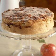 This 5-star cinnamon apple cake is one of our best-ever recipes and can be served as dessert or a breakfast coffee cake. The cream cheese in the batter gives the cake lots of moisture.