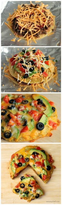 kiss recipe: Loaded Mexican Pizza