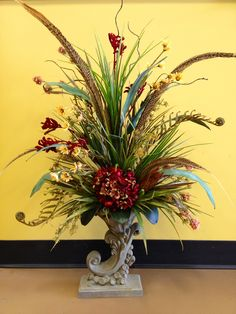 #Tuscany #floral #arrangement. #Designed by Arcadia Floral & Home Decor