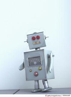 Robot, 3D rendering