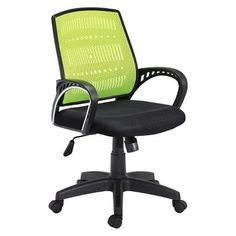 Hodedah Import Office Chair - Green
