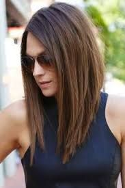 Image result for long angled bob haircuts for thin hair