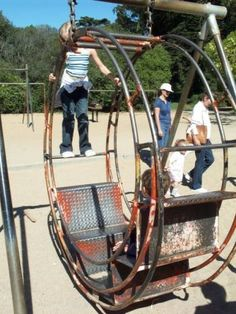 Spent lots of time playing on these in the 1970s. San francisco golden gate park  -