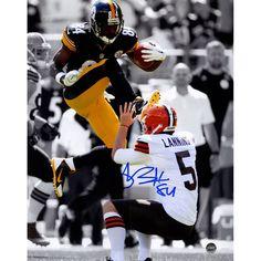 Antonio Brown Signed Steelers 'Kick' 8x10 Photo