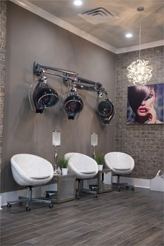 Salons of the Year 2017 Meraki Hair Studio - Awards Contests - Salon Today Nail Salon Decor, Hair Salon Interior, Beauty Salon Decor, Salon Interior Design, Beauty Salon Design, Salons Decor, Beauty Salons, Small Beauty Salon Ideas, Salon Decorating