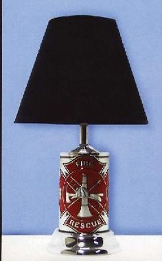 Fire Department Table Lamp