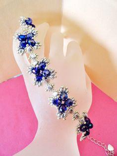 tutoriel pas à pas du bracelet Chloé : Bracelet par perles-des-caraibes