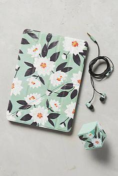 Minted Daisy iPad Case