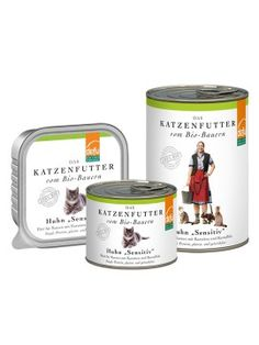 "DEFU Huhn ""Sensitiv"" Pâté für Katzen (Bio-Katzenfutter) by www.katzenmarkt.ch Drinks, Food, Cat Food, Dog Food, Animal Food, Farm Animals, Drinking, Beverages, Meal"