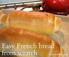 French bread - bread machine