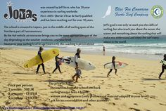 Promotion of one of our surfschool partner Joyas Surf School