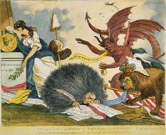 Bringing Down a Tyrant Election Cartoons, Moose Art, Georgian, Animals, Painting, 18th, Life, Animales, Georgian Language