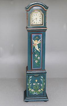 GOLVUR, allmoge, 1800-tal. Klockor & Ur - Golvur – Auctionet