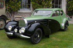 Bugatti Type 57 C Coupe. Aerodynamic
