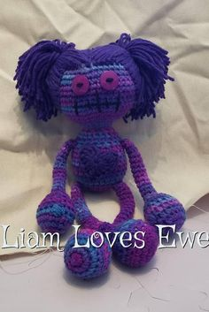 Hey, I found this really awesome Etsy listing at https://www.etsy.com/listing/560946004/zombie-doll-crochet-zombie-doll-great