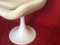 fauteuil vintage pied tulipe