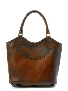 Omg this bag is dreamy... Paris Leather Tote (Brown)