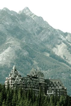 Fairmont in Banff, Canada - fabulous place to hike, canoe, ski, and enjoy the majestic mountains