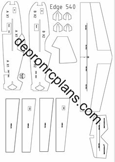 Rc Plane Plans, Boat Plans, Paper Aircraft, Airplane Pilot, Model Airplanes, Gliders, Laser Engraving, 3d Printing, Crossbow