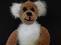 Teddy braun-weiß