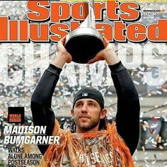 Madison Bumgarner on cover of Sports Illustrated