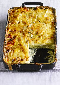 Dauphinoise potatoes: Dauphinoise potatoes are an absolute classic. We love the combination of cream, garlic and cheese smothered on thinly sliced potatoes and it makes any meal feel more special. What's even better, is that you can cook and eat this now, Potatoes Dauphinoise, Eat This, French Dishes, Potato Side Dishes, Vegetable Dishes, Potato Recipes, Love Food, Vegetarian Recipes, The Best
