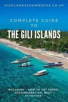 A full guide to your trip to the Gili Islands. These islands belong to Lombok and are located near to the popular Indonesian island, Bali. Have you been to the Gili Islands? Bali Gili, Gili Islands Bali, Bali Lombok, Bali Travel Guide, Asia Travel, Travel Guides, Gili Trawangan, Koh Tao, Travel Destinations