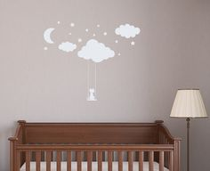 Wall Decals Clouds Vinyl Sticker Decal for Kids by BestDecals