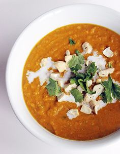 A Light Version of Coconut Curry Butternut Squash Soup | POPSUGAR Fitness