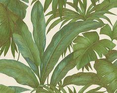 eurowalls wallcoverings Versace wallpaper - NEW Banana Leaf Wallpaper