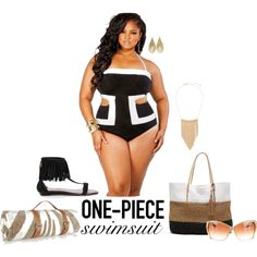 Make all the boys look- plus size swimsuit