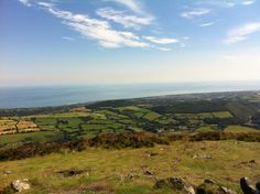 I'm on top of the world  -The Sugarloaf, Co. Wicklow