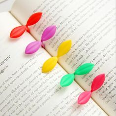 30pcs/lot New little Leaves bookmark Sprout mini book marks Stationery School stationery Office Supply  Gift GT169 #Affiliate