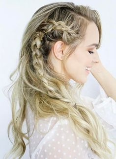 Trendy Side Braid Hairstyles for Long Hair 2018