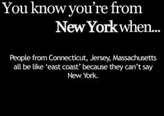 You Know You're From New York When... : Photo