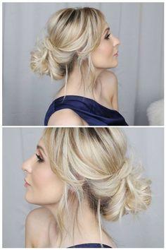 O #musthave da vez é o coque baixo, no estilo largadinho. Perfeito para criar um estilo casual, sem deixar de ser chic!  hair do