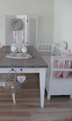 Shabby Chic Bench